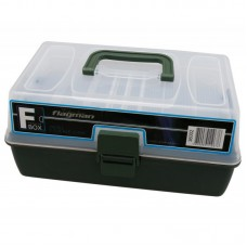 Ящик Flagman пластиковый 2-х полочный 39х14х18см