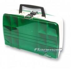 Ящик кейс Flagman 2-х сторонний большой 21х32х4см