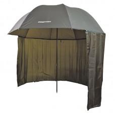 Зонт рыболовный Flagman нейлон с тентом 2,5м зеленый