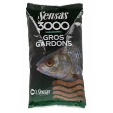 Прикормка Sensas 3000 GROS GARDONS 1кг